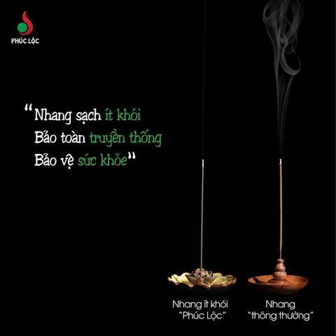 Nhang sạch ít khói Phúc Lộc